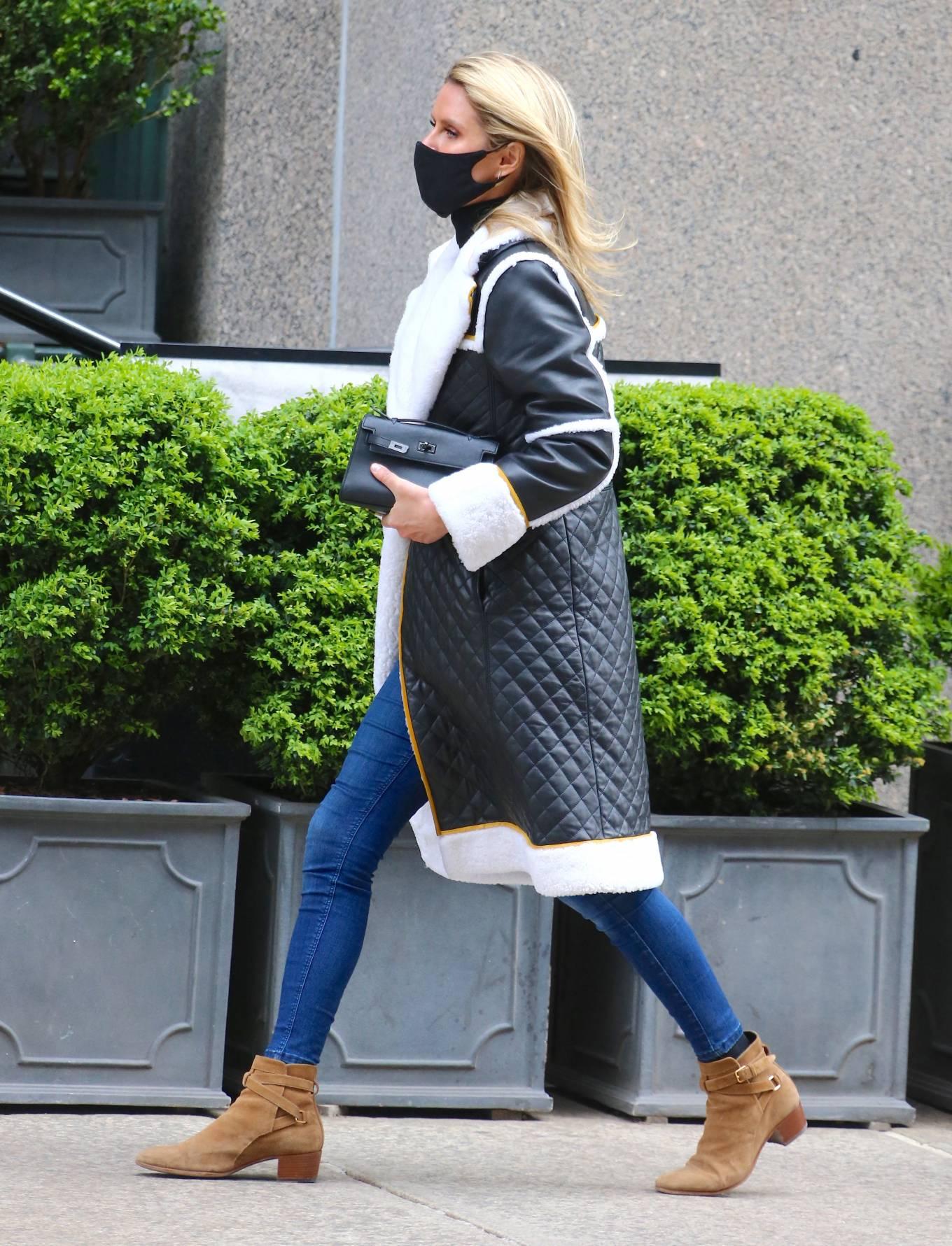 Nicky Hilton 2021 : Nicky Hilton – Seen on the street in Soho – New York-14