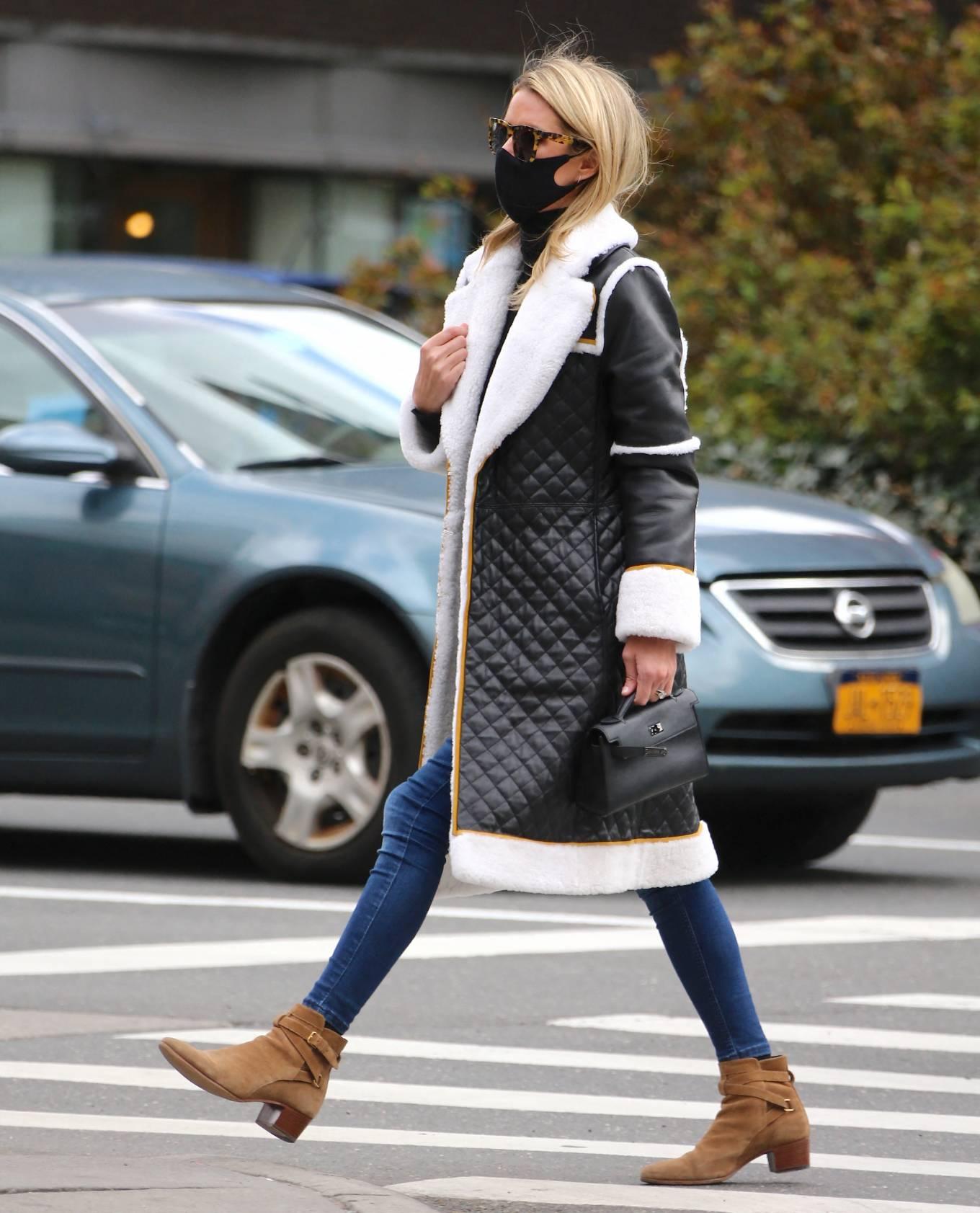 Nicky Hilton 2021 : Nicky Hilton – Seen on the street in Soho – New York-16