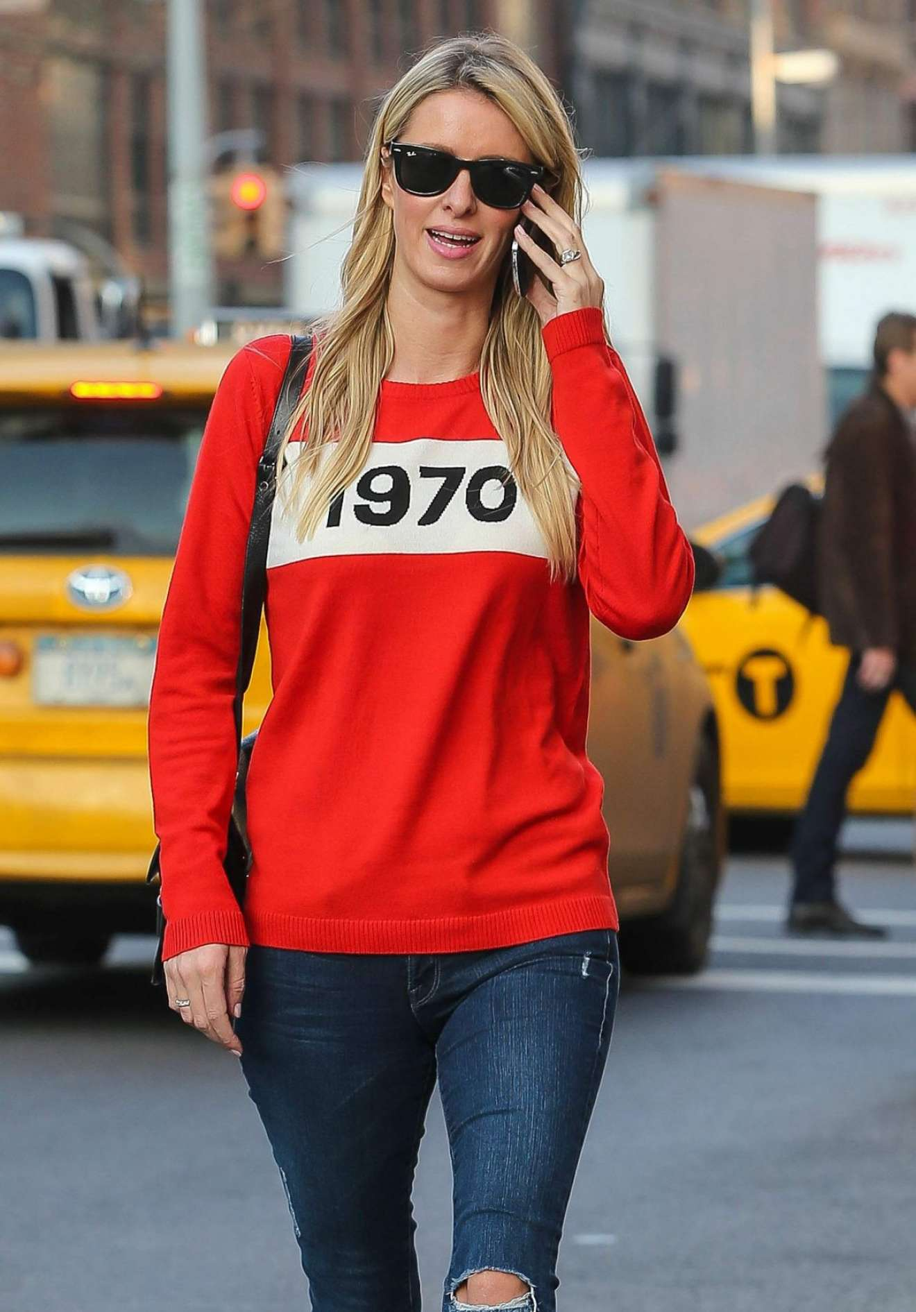Nicky Hilton - Seen Out And About In New York