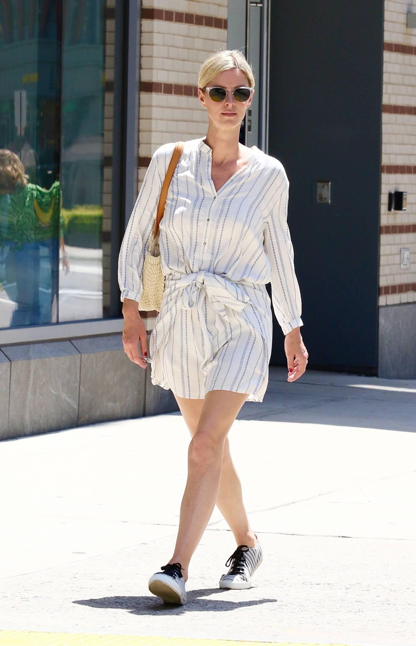 Nicky Hilton 2021 : Nicky Hilton – Seen running errands in Downtown Manhattan-04