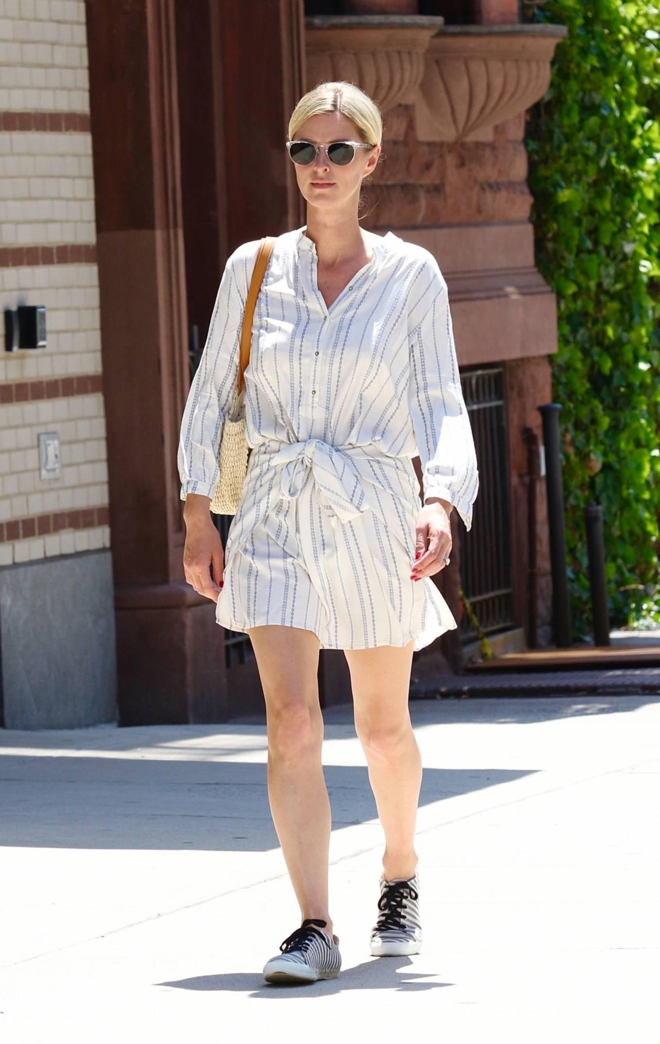 Nicky Hilton 2021 : Nicky Hilton – Seen running errands in Downtown Manhattan-05