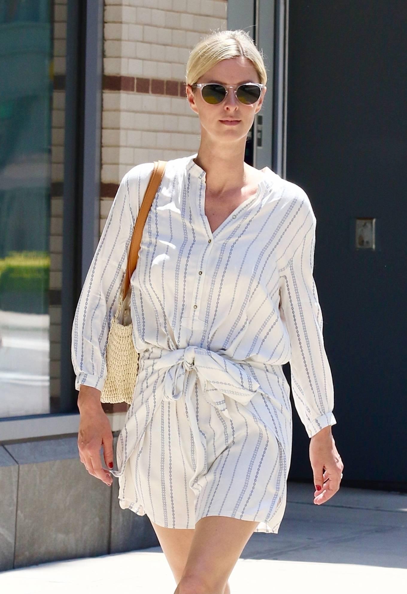 Nicky Hilton 2021 : Nicky Hilton – Seen running errands in Downtown Manhattan-06