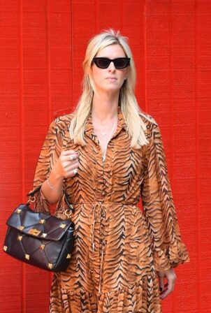 Nicky Hilton - Seen while running errands in New York City