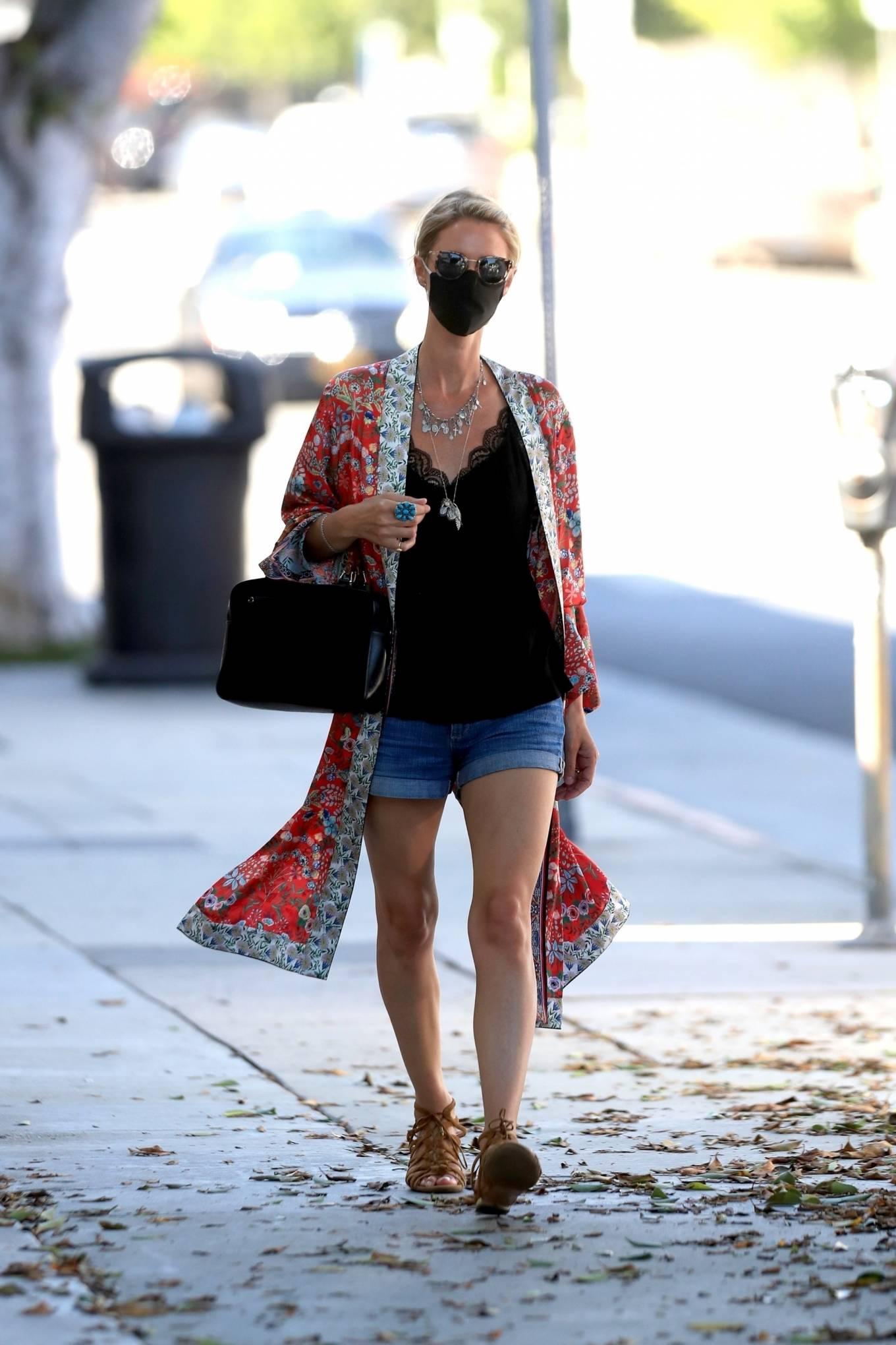 Nicky Hilton 2020 : Nicky Hilton – Shopping at Kitson Kids in West Hollywood-05