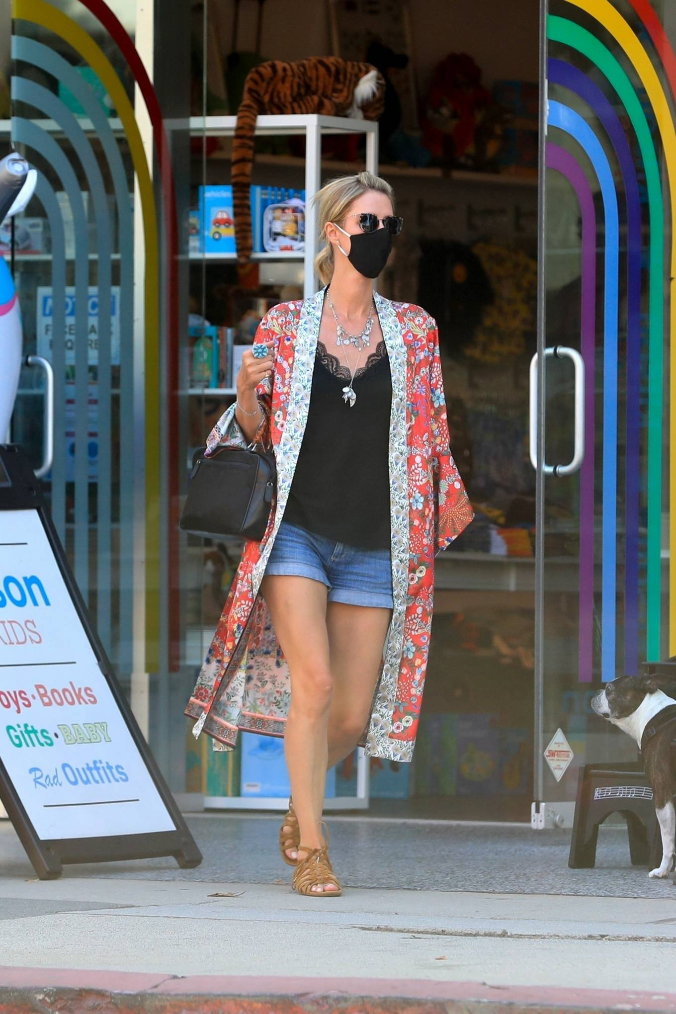 Nicky Hilton 2020 : Nicky Hilton – Shopping at Kitson Kids in West Hollywood-17