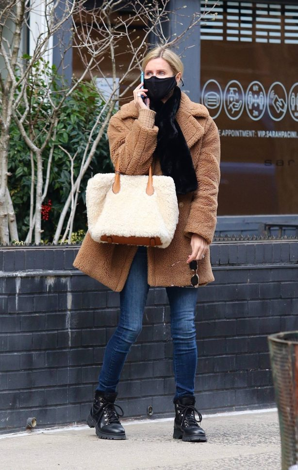 Nicky Hilton - Shopping in Manhattan's West Village area in New York City