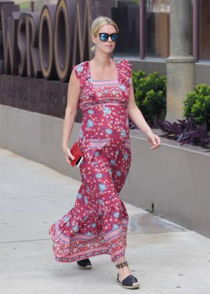 Nicky Hilton in Long Dress Shopping in Los Angeles