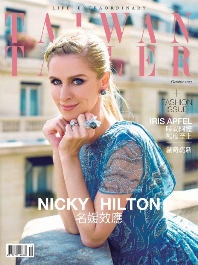 Nicky Hilton - Taiwan Tatler Magazine (October 2017)