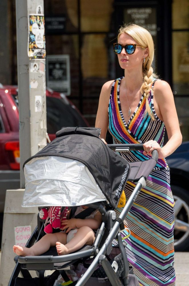 Nicky Hilton with her daughter Lily-Grace -15
