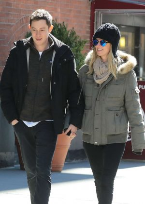 Nicky Hilton with her husband James out in New York City