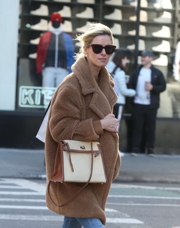 Nicky Hilton 2020 : Nicky Hilton with her husband out in New York-04