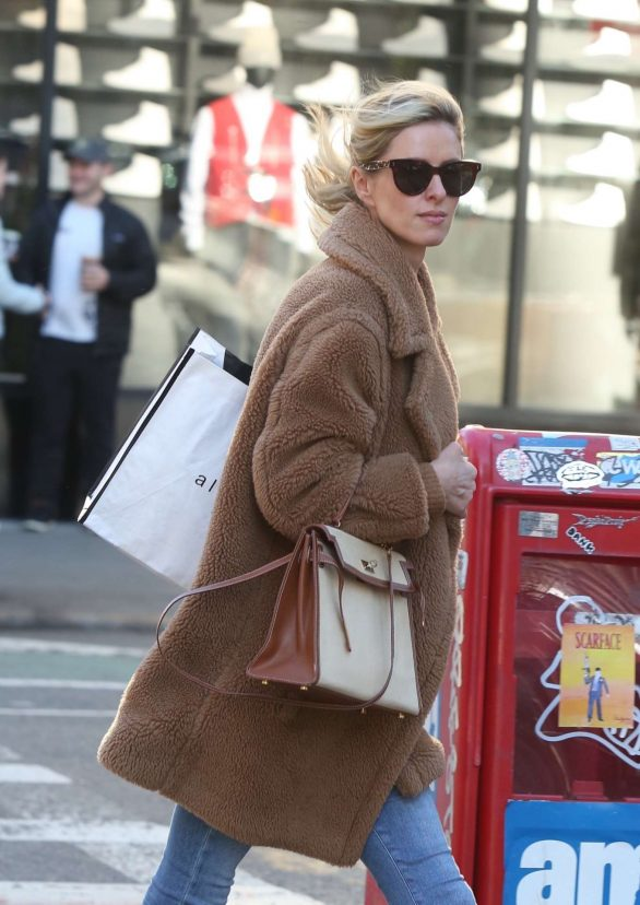 Nicky Hilton 2020 : Nicky Hilton with her husband out in New York-05
