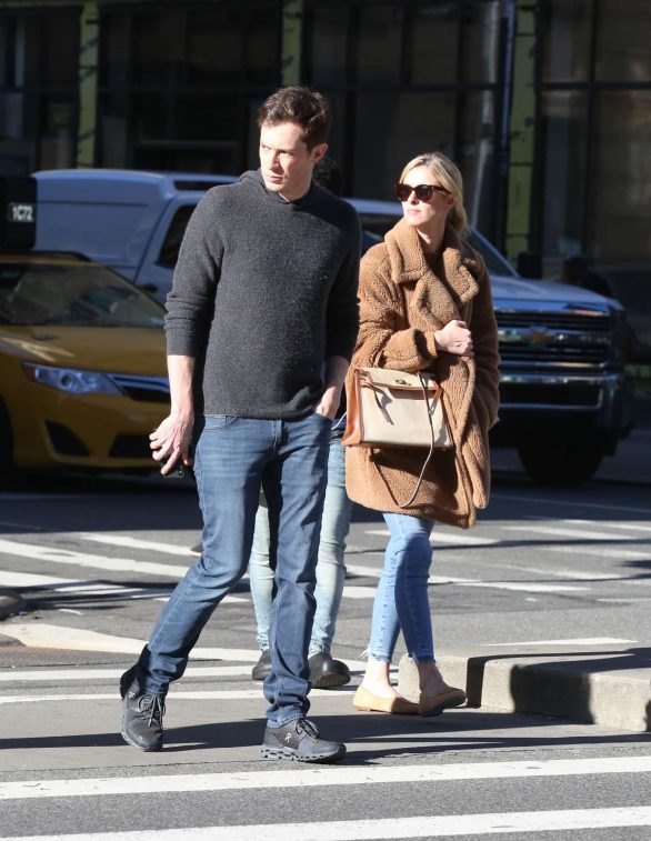 Nicky Hilton with her husband out in New York