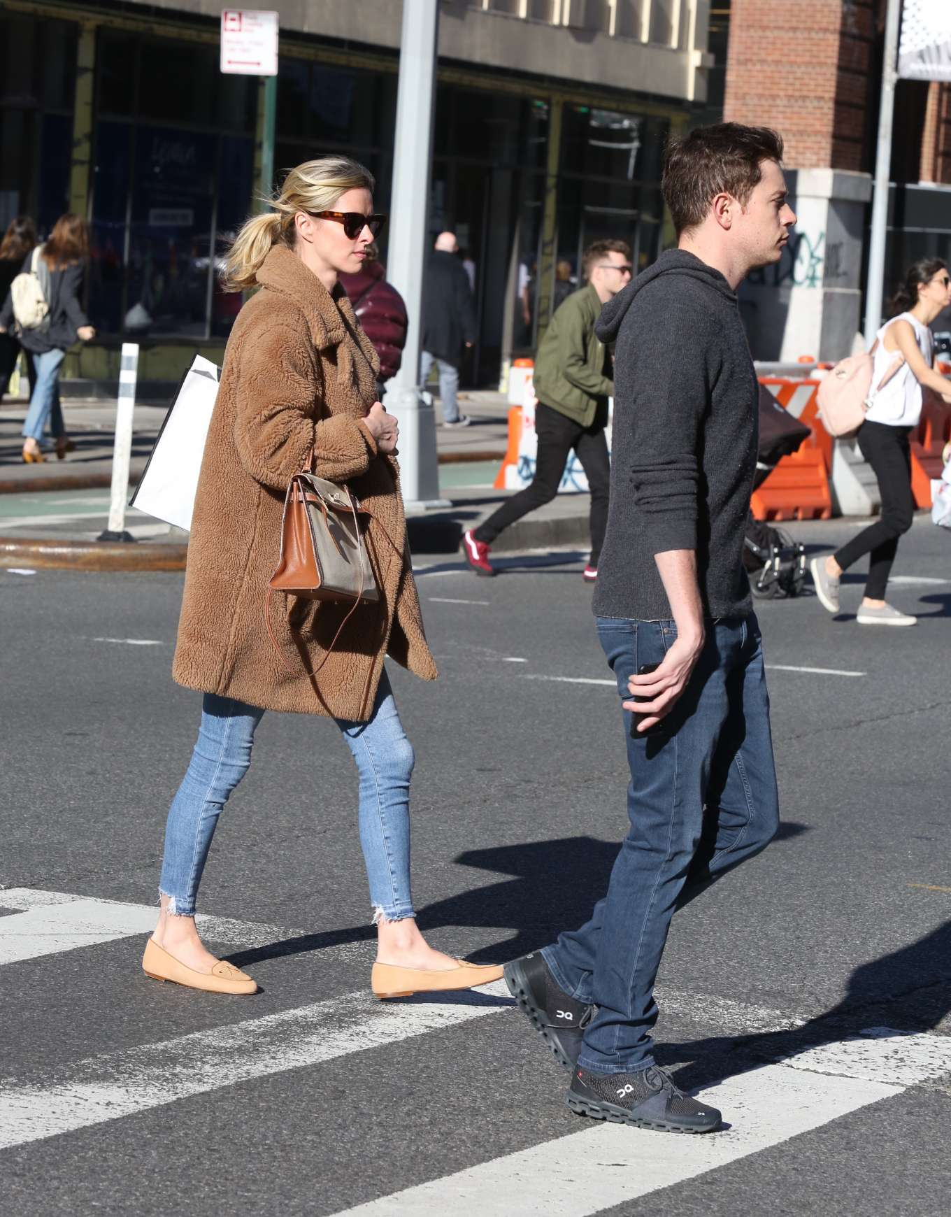 Nicky Hilton 2020 : Nicky Hilton with her husband out in New York-10