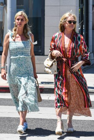 Nicky Hilton - With Kathy shopping candids in Beverly Hills