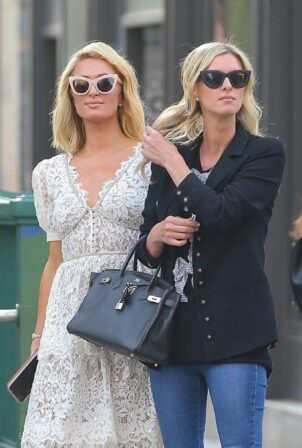Nicky Hilton - With Paris Hilton seen out and about in New York City
