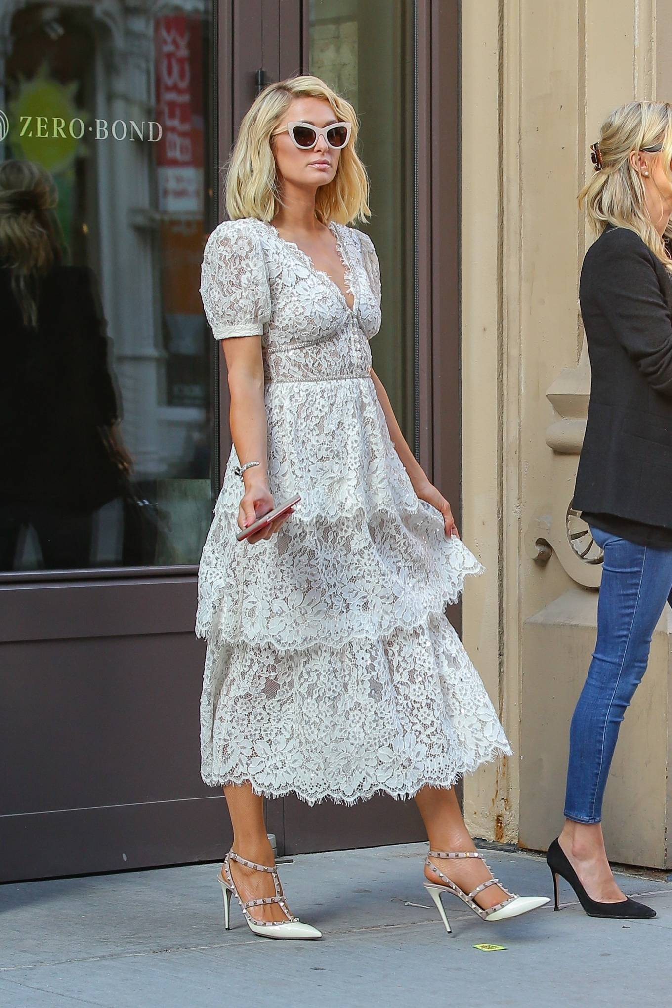 Nicky Hilton 2021 : Nicky Hilton – With Paris Hilton seen out and about in New York City-16