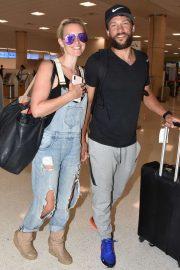 Nicky Whelan - Arrives in San Juan