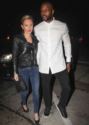 Nicky Whelan at Craig's Restaurant in West Hollywood
