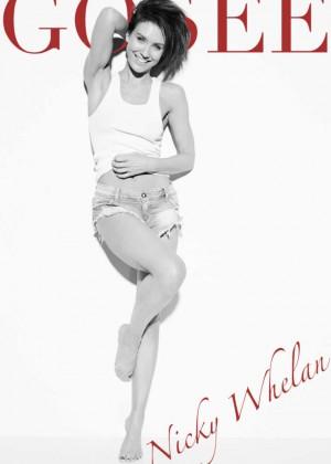 Nicky Whelan - Gosee Magazine (March 2016)