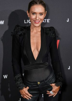 Nicky Whelan - 'Jigsaw' Premiere in Los Angeles