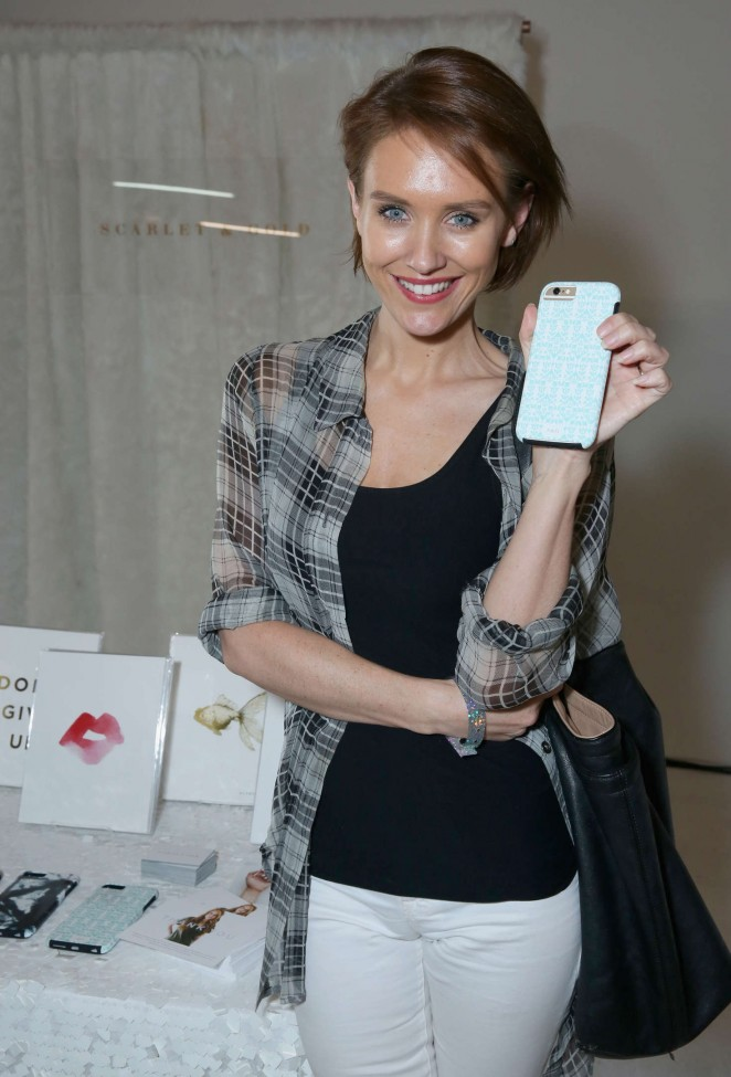 Nicky Whelan - Kari Feinstein's Style Lounge presented by LIFX in LA