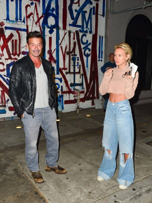 Nicky Whelan - With Frank Grillo seen in Los Angeles