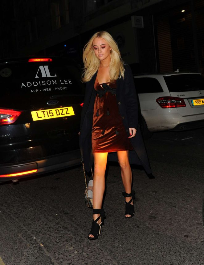 Nicola Hughes - Faberge Say Yes To Colour Launch Party in London