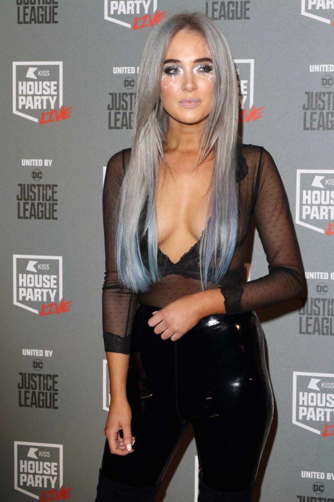 Nicola Hughes - Kiss FM House Party in London
