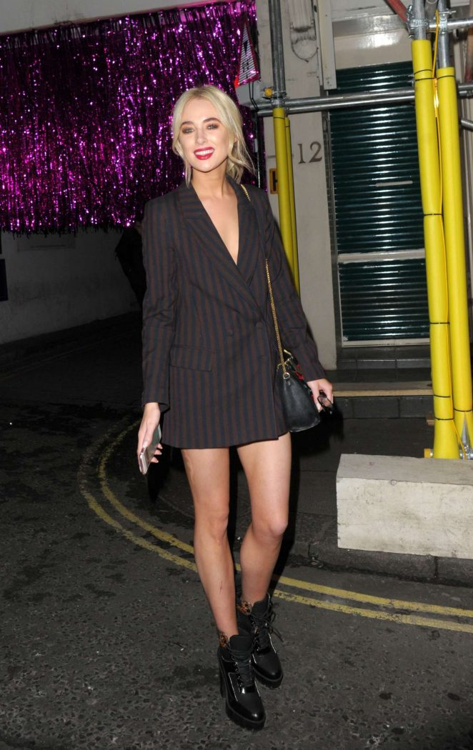 Nicola Hughes - Leaving Maybelline - Bring on the Night party in London
