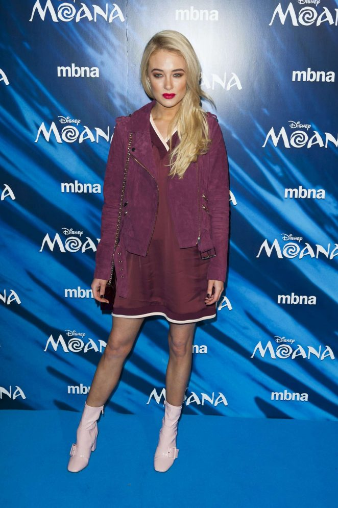 Nicola Hughes - 'Moana' Screening at BAFTA Picadilly in London
