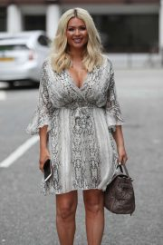 Nicola Mclean - Leaving ITN Studios in London