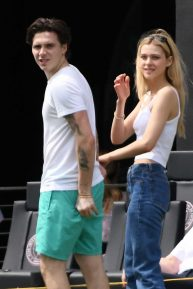Nicola Peltz and Brooklyn Beckham - Out in Fort Lauderdale