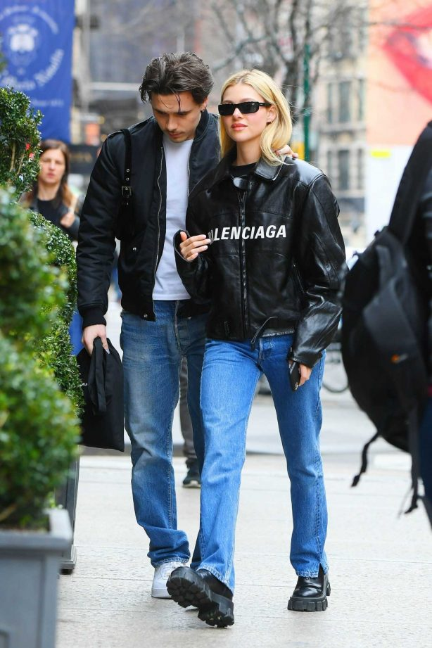 Nicola Peltz and Brooklyn Beckham - Out in New York City