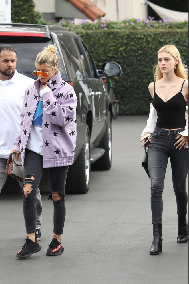 Nicola Peltz and Sofia Richie Spotted at Mauro's Restaurant in Beverly Hills