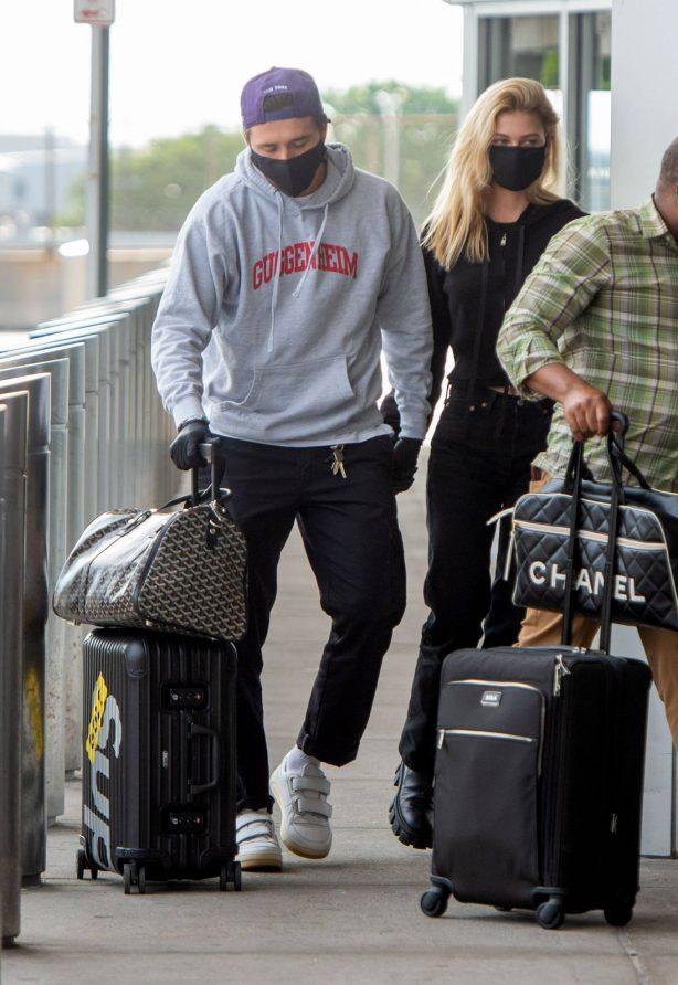 Nicola Peltz - Arrives at JFK Airport in NYC