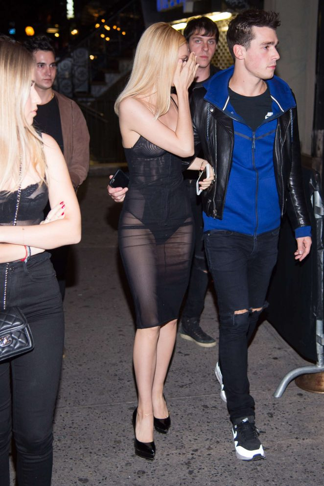 Nicola Peltz – Arriving at Up&Down Nightclub in New York City