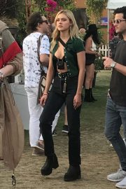 Nicola Peltz at 2019 Coachella in Indio