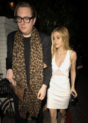 Nicola Peltz at the Chateau Marmont in West Hollywood