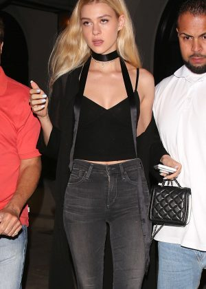 Nicola Peltz in Jeans Arriving The Nice Guy in West Hollywood