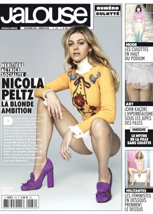 Nicola Peltz - Jalouse Magazine Cover (Dec/Jan 2015/16)