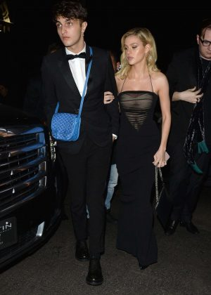 Nicola Peltz - Leaves InStyle and Warner Bros Golden Globes After Party in LA