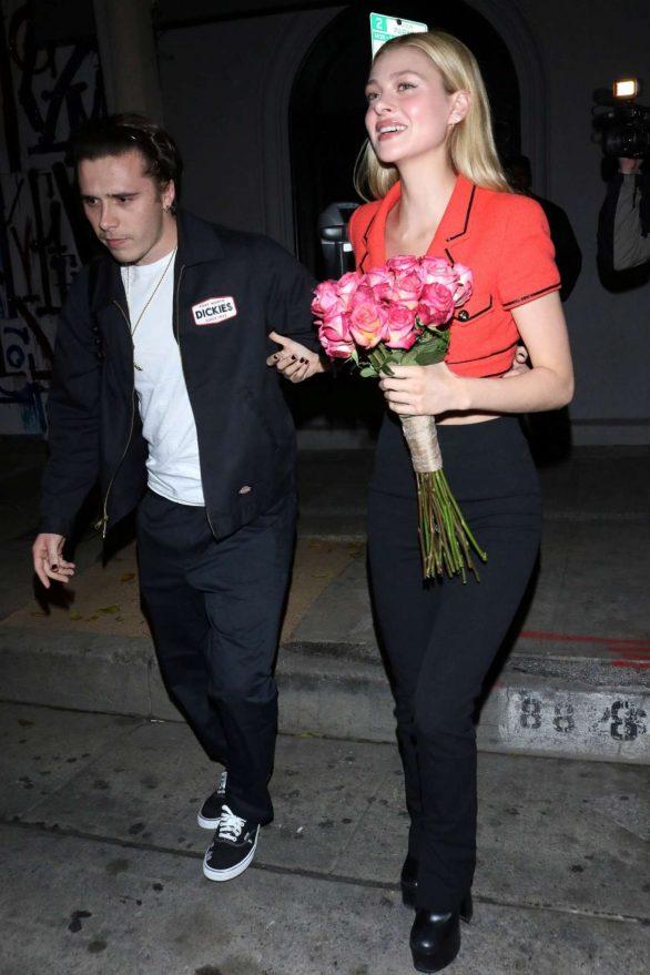 Nicola Peltz - Leaving Craig's in West Hollywood