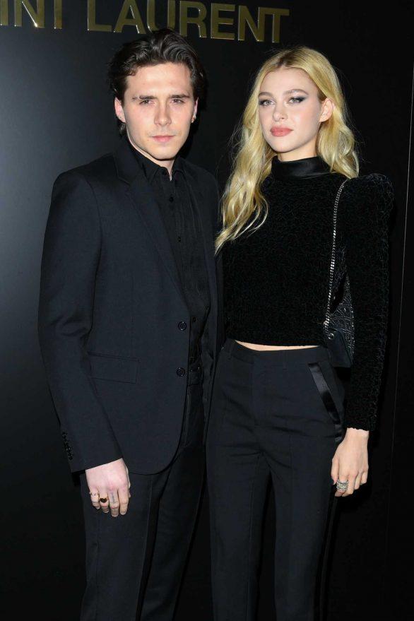 Nicola Peltz - Saint Laurent Show at Paris Fashion Week 2020