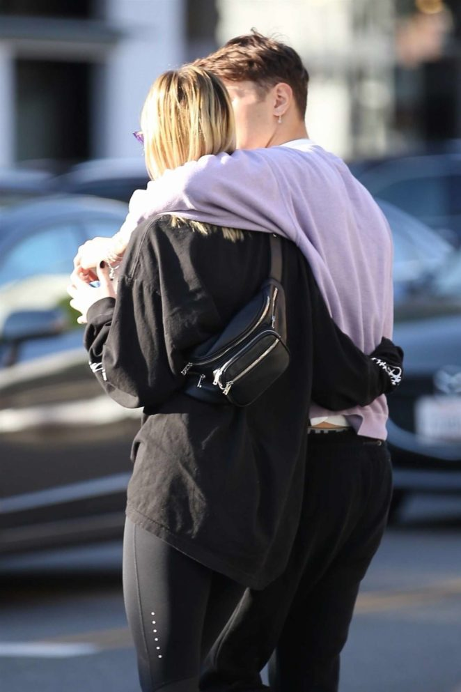 Nicola Peltz with Anwar Hadid out in Beverly Hills -10