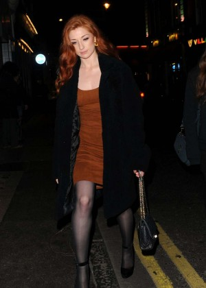 Nicola Roberts - Arrives at 'Kill Your Friends' After Party in London