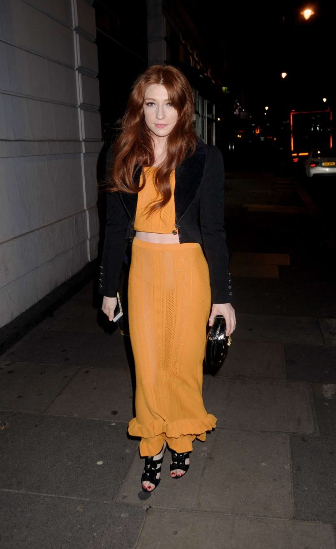 Nicola Roberts at Alice McCall Dinner in London