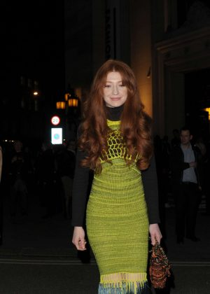 Nicola Roberts at London Fashion Week Event in London