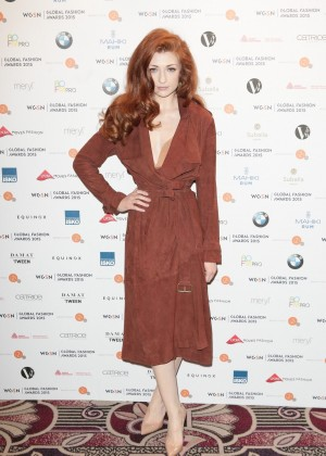 Nicola Roberts: Global Fashion Awards 2015 -01
