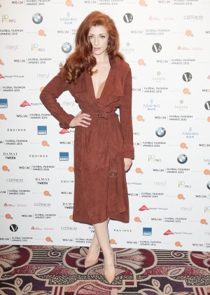 Nicola Roberts - Global Fashion Awards 2015 in London